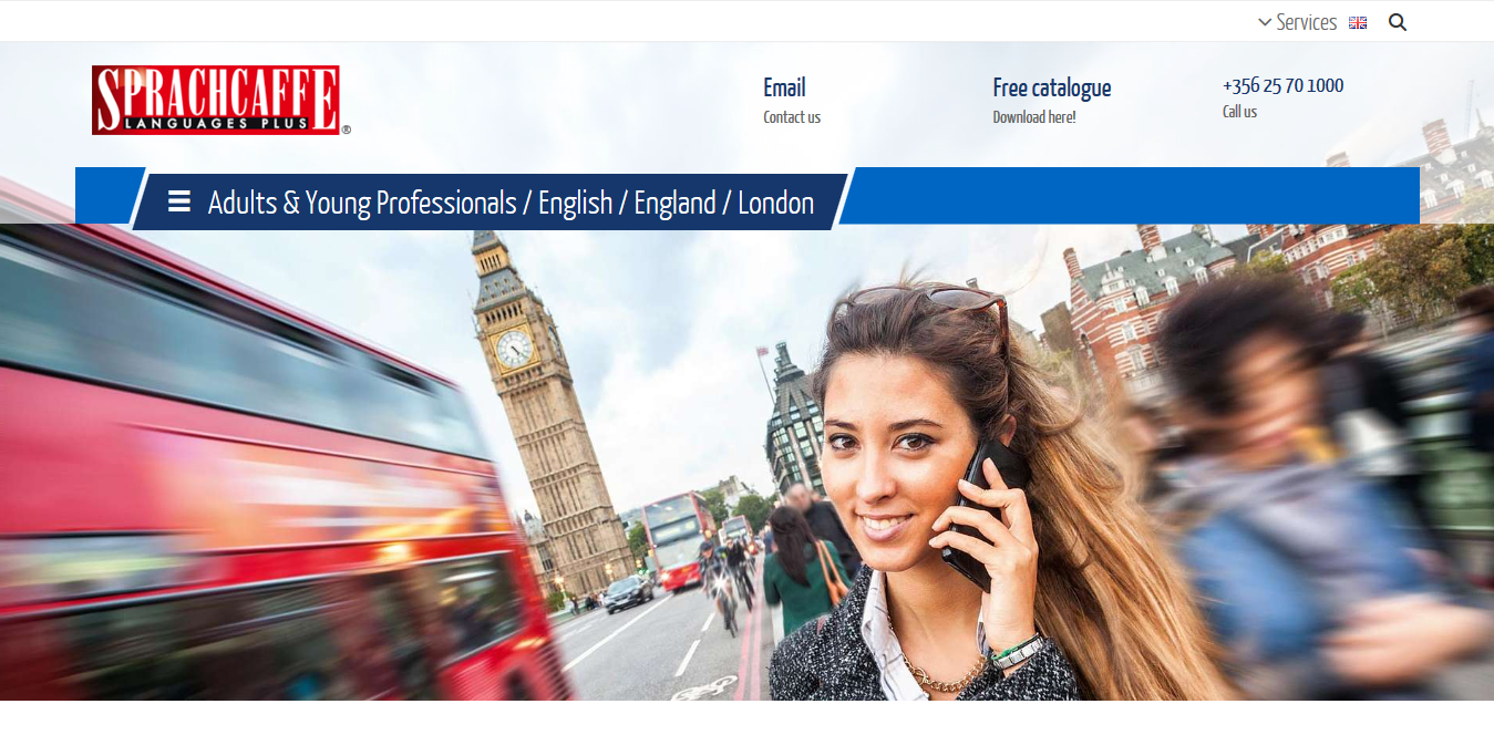 Screenshot 2018 10 16 English Courses in London for Adults Sprachcaffe - Join One of the 5 Best Language Schools in London