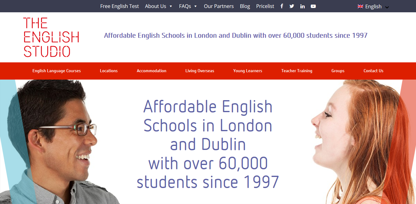 Screenshot 2018 10 16 School of English in London and Dublin The English Studio - Join One of the 5 Best Language Schools in London